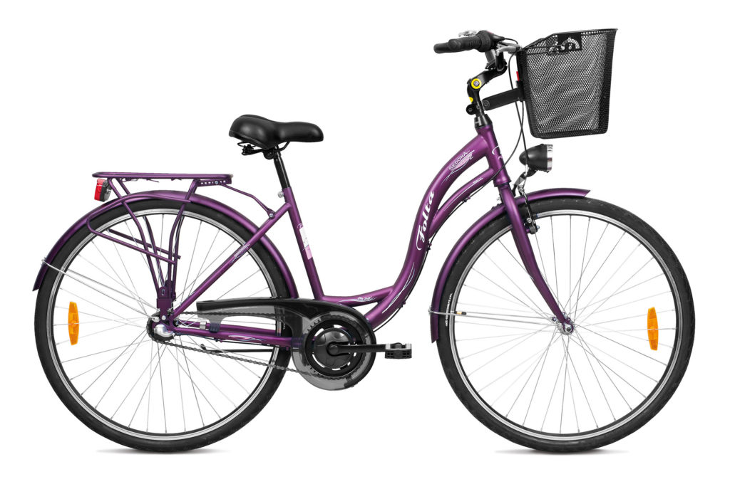 rower jak wybrać? rower miejski z koszykiem w sklepie rowerowym Dolata Rowery