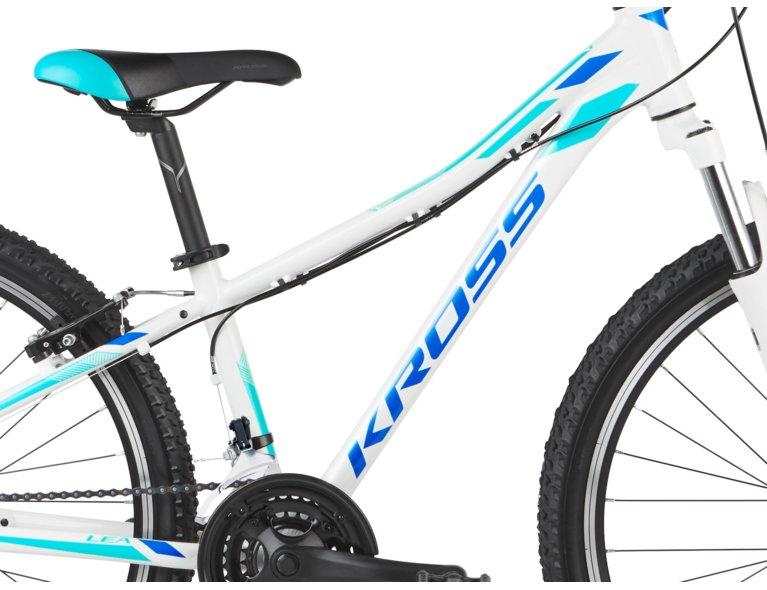 wygodny rower dla dziecka w kolorze białym