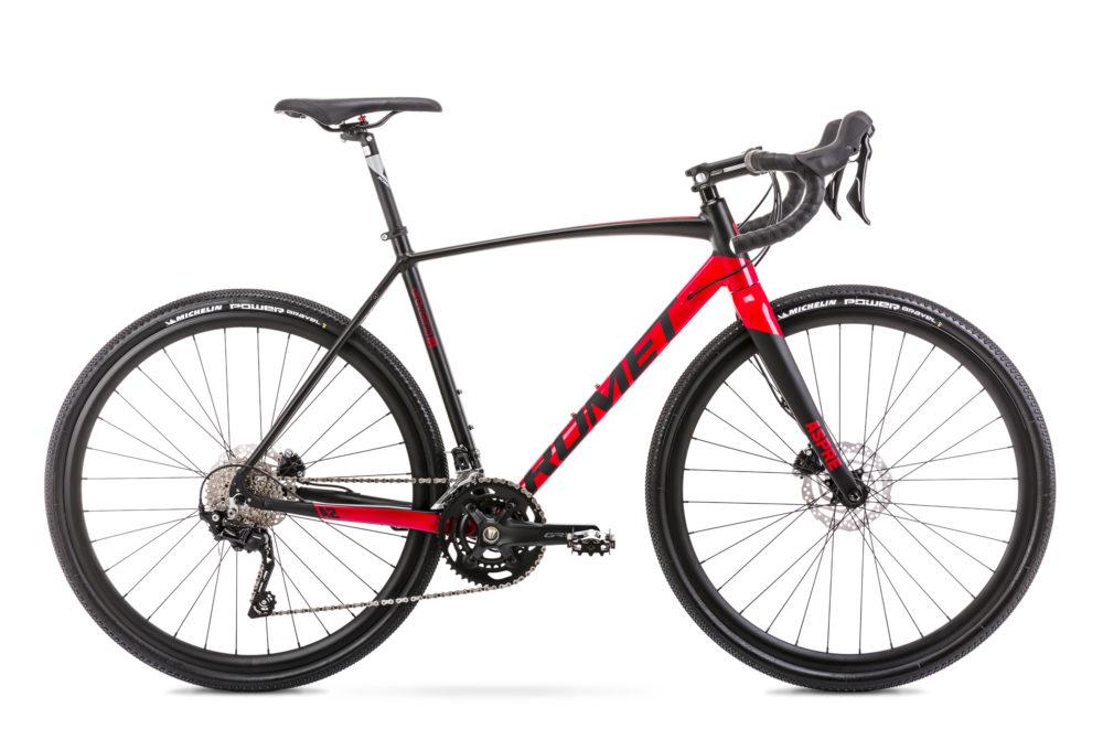 wygodny rower szosowy marki romet