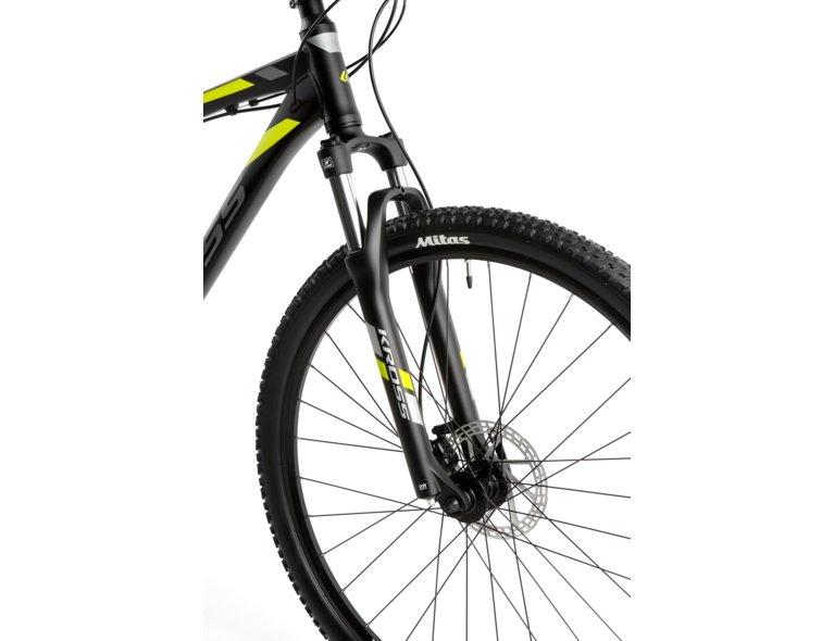 system amortyzujący w rowerze crossowym