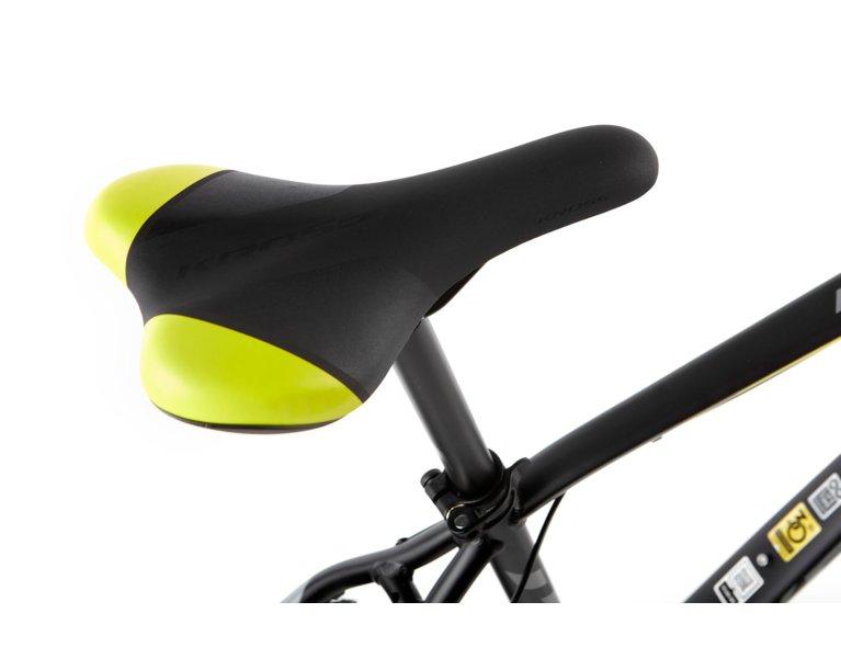 wygodne siodełko w rowerze crossowym