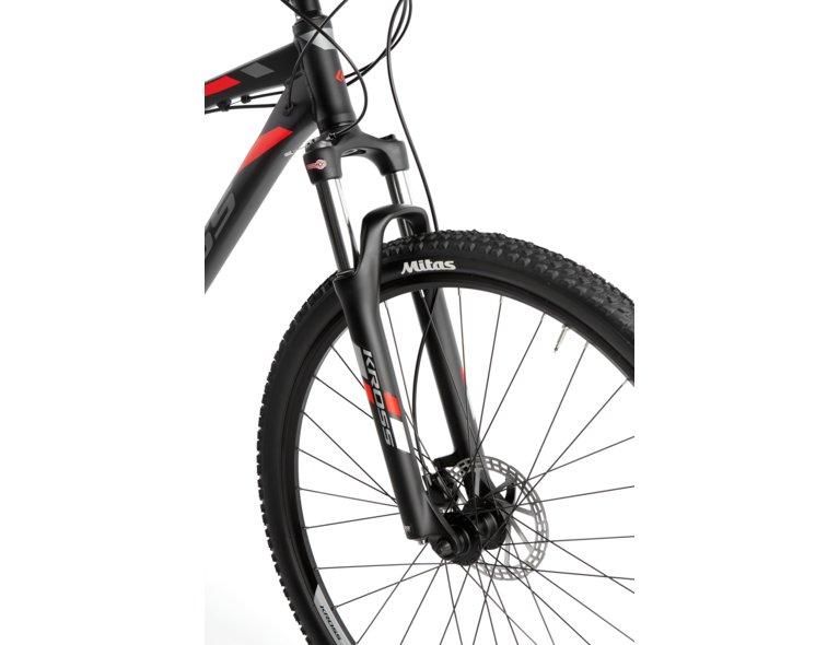 wygodny czarny rower crossowy do kupienia w sklepie rowerowym