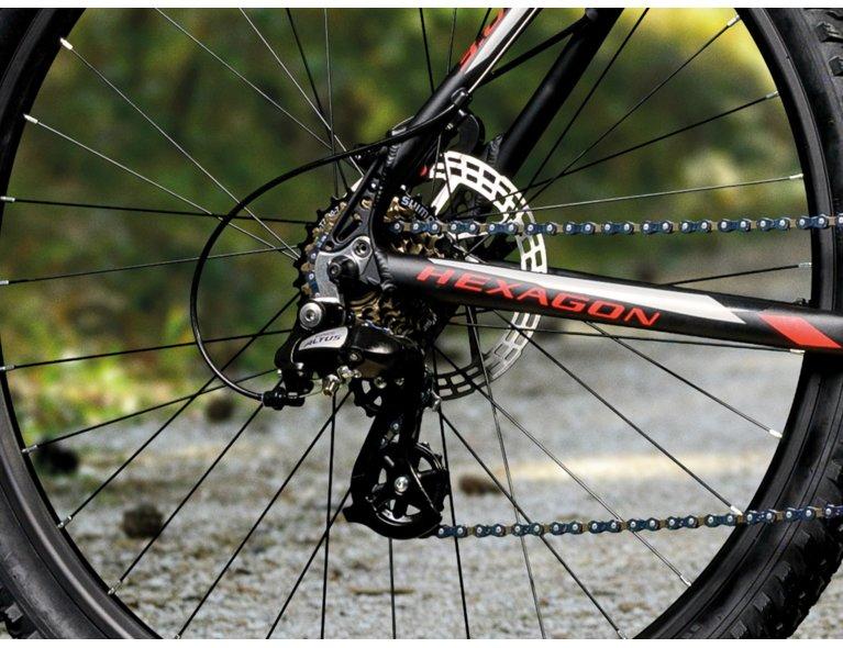 wybierając rower zwróć uwagę na liczbę biegów