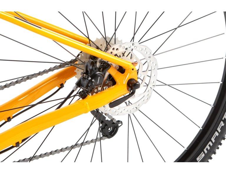 rower kross żółty, wygodny rower