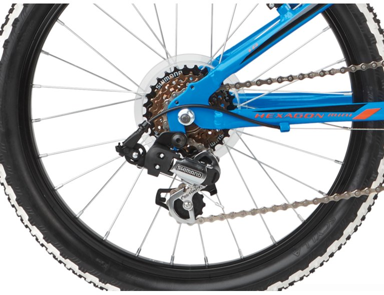 wygodny rower dla chłopca w kolorze niebieskim