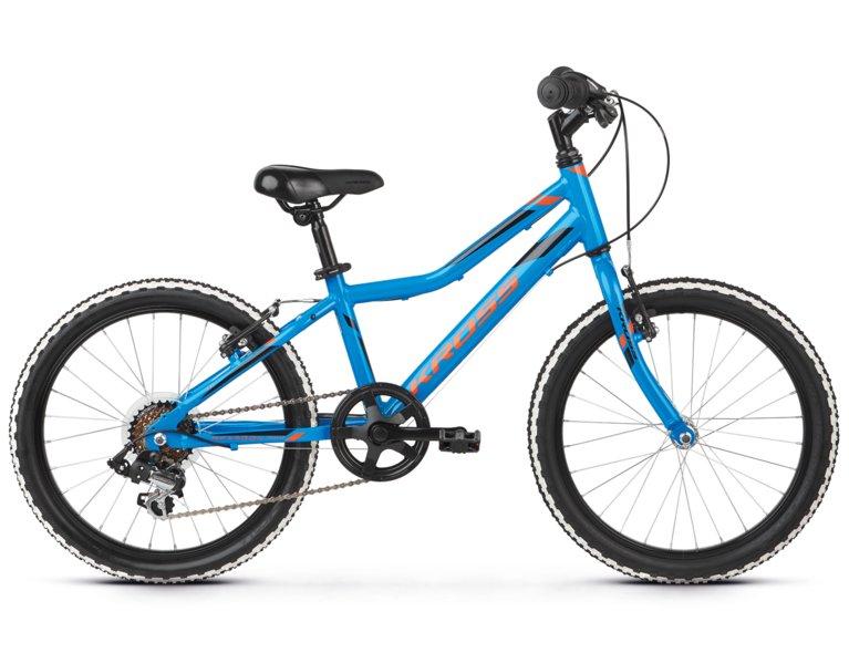 wygodny rower dziecięcy dla chłopca w kolorze niebieskim