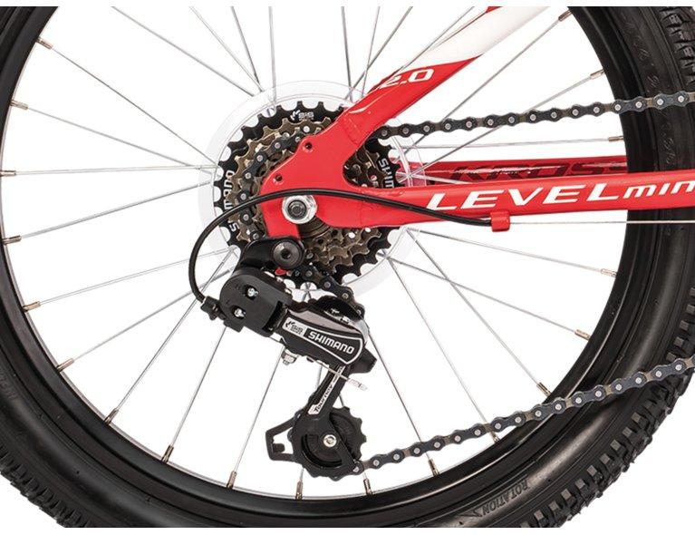 czerwony rower dla dziecka dostępny w sklepie rowerowym online
