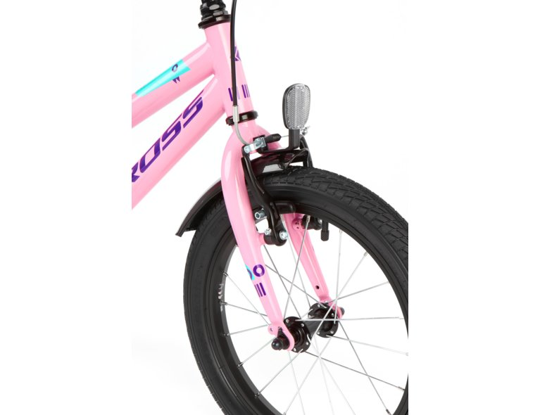 śliczny, różowy rowerek dla dziewczynki 4-6 lat.
