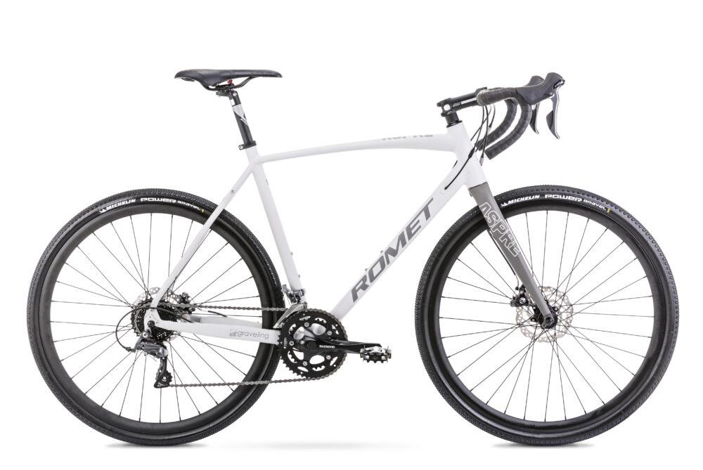 wygodny Rower szosowy ROMET ASPRE 1 2021 w sklepie rowerowym Dolata Rowery
