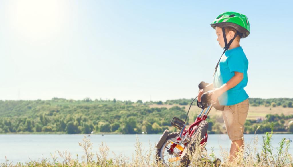 jak nauczyć dziecko jeździć na rowerze